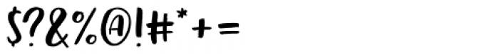 Echo Soul Sans Font OTHER CHARS