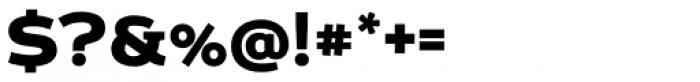 Echoes Sans Black Font OTHER CHARS