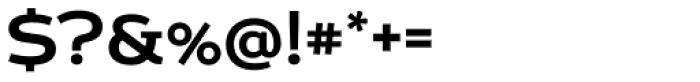 Echoes Sans Medium Font OTHER CHARS