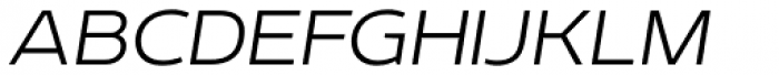 Echoes Sans Thin Italic Font UPPERCASE