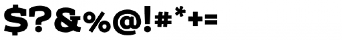 Echoes Slab Black Font OTHER CHARS