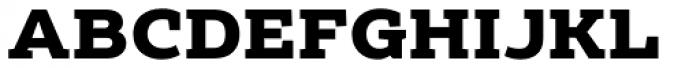 Echoes Slab Black Font UPPERCASE