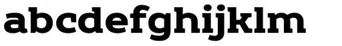 Echoes Slab Black Font LOWERCASE