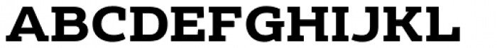 Echoes Slab Bold Font UPPERCASE