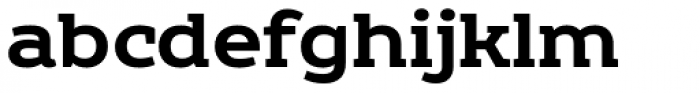 Echoes Slab Bold Font LOWERCASE
