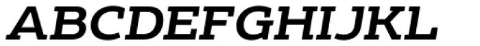Echoes Slab Medium Italic Font UPPERCASE