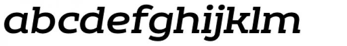 Echoes Slab Medium Italic Font LOWERCASE