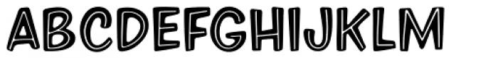 Eckhardt Informal JNL Font LOWERCASE