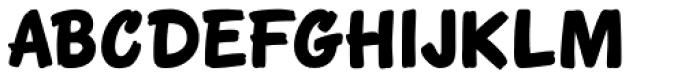 Eckhardt Poster Brush JNL Font LOWERCASE