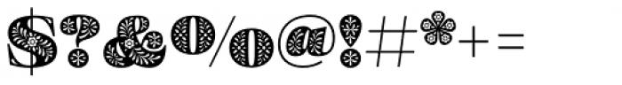 Eckhart Color Black Font OTHER CHARS