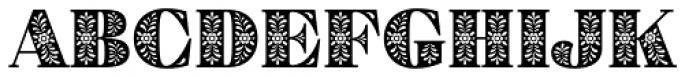 Eckhart Color Black Font UPPERCASE