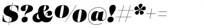 Eckhart Display Black Italic Font OTHER CHARS