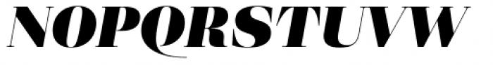 Eckhart Display Black Italic Font UPPERCASE