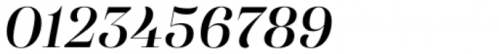 Eckhart Display Demi Bold Italic Font OTHER CHARS