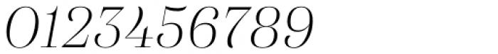 Eckhart Display Light Italic Font OTHER CHARS