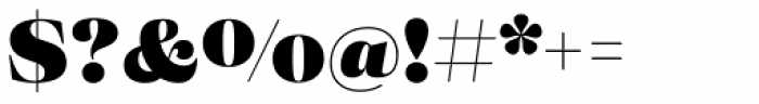 Eckhart Headline Black Font OTHER CHARS