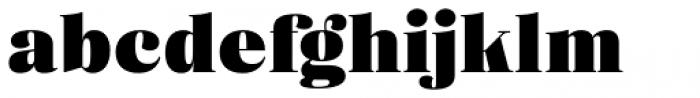 Eckhart Headline Black Font LOWERCASE