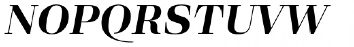 Eckhart Headline Bold Italic Font UPPERCASE