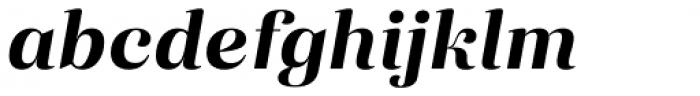 Eckhart Headline Bold Italic Font LOWERCASE