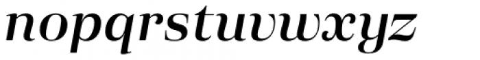 Eckhart Headline Demi Bold Italic Font LOWERCASE