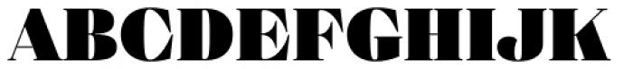Eckhart Headline Extra Black Font UPPERCASE