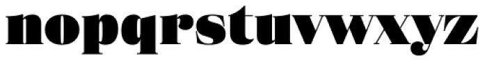 Eckhart Headline Extra Black Font LOWERCASE