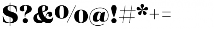 Eckhart Headline Extra Bold Font OTHER CHARS