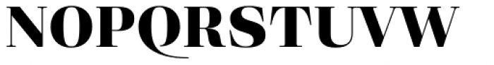 Eckhart Headline Extra Bold Font UPPERCASE