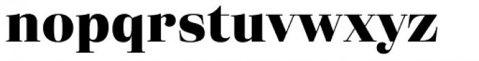 Eckhart Headline Extra Bold Font LOWERCASE