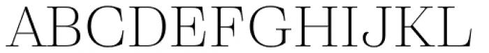 Eckhart Headline Light Font UPPERCASE