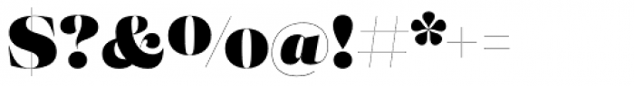 Eckhart Poster Black Font OTHER CHARS