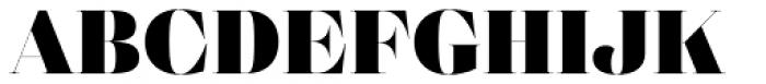Eckhart Poster Black Font UPPERCASE