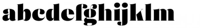 Eckhart Poster Black Font LOWERCASE