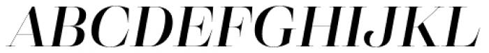 Eckhart Poster Demi Bold Italic Font UPPERCASE