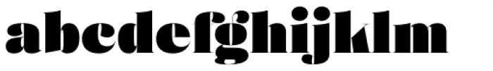 Eckhart Poster Extra Black Font LOWERCASE