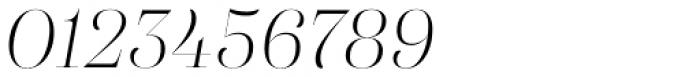 Eckhart Poster Light Italic Font OTHER CHARS
