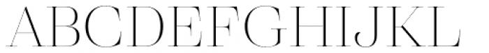 Eckhart Poster Thin Font UPPERCASE