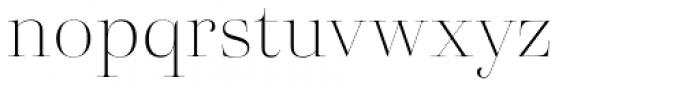 Eckhart Poster Thin Font LOWERCASE