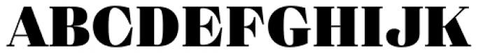 Eckhart Text Black Font UPPERCASE