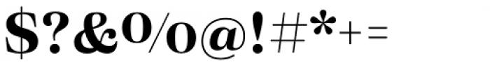 Eckhart Text Bold Font OTHER CHARS