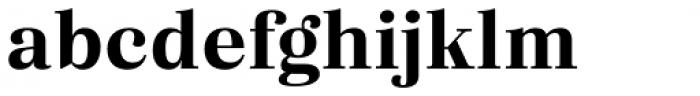 Eckhart Text Bold Font LOWERCASE