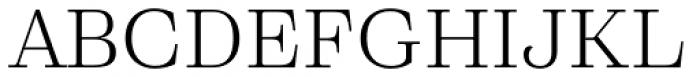 Eckhart Text Book Font UPPERCASE