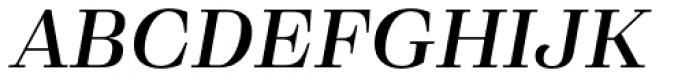 Eckhart Text Demi Bold Italic Font UPPERCASE