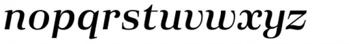 Eckhart Text Demi Bold Italic Font LOWERCASE