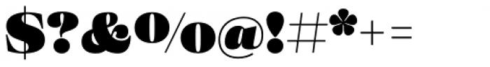 Eckhart Text Extra Black Font OTHER CHARS
