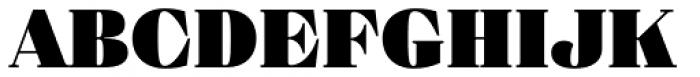 Eckhart Text Extra Black Font UPPERCASE