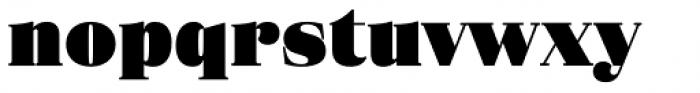 Eckhart Text Extra Black Font LOWERCASE