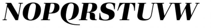 Eckhart Text Extra Bold Italic Font UPPERCASE
