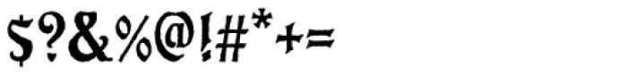 Eckmann Antique D Font OTHER CHARS