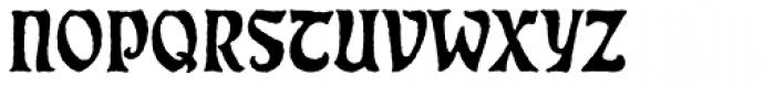 Eckmann Antique D Font UPPERCASE